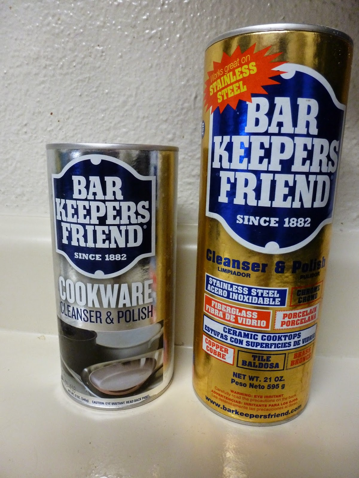 sandys2cents bar keepers friend cleaning products. Black Bedroom Furniture Sets. Home Design Ideas