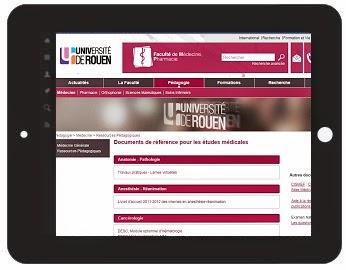 Cours de medecine en ligne faculté Rouen