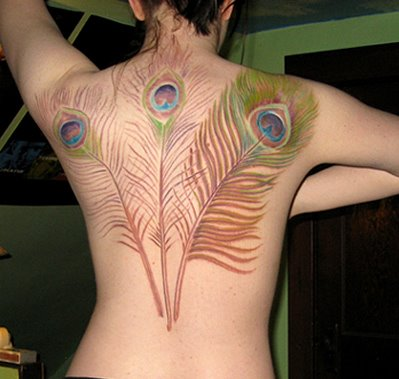 Feather Tattoos on Girl Feather Tattoos Feather Tattoos On Neck Feather Tattoo Designs