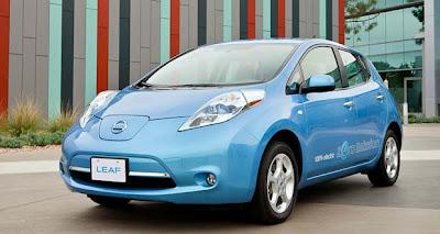 nissan leaf 2012 electric car