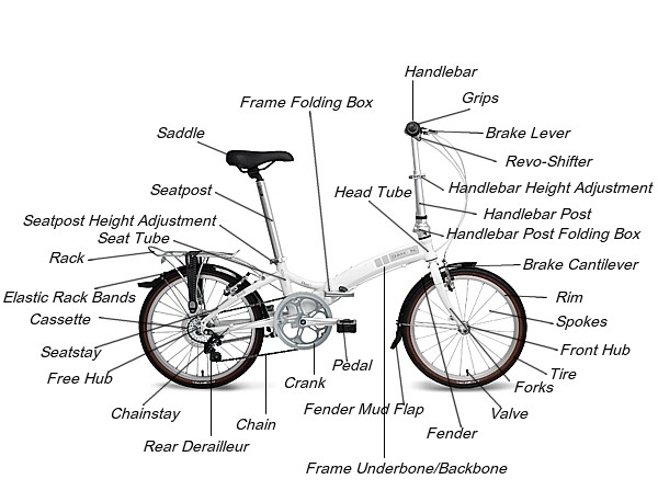 Toko Sepeda Online Majuroyal: Anatomi Part Sepeda Size