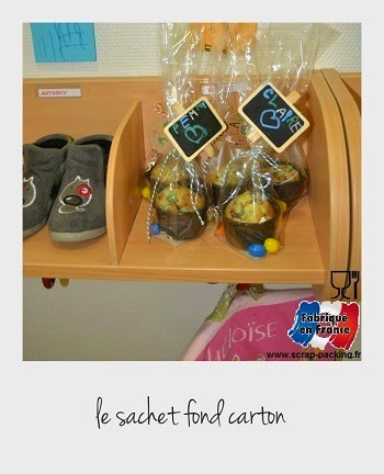 Sachets alimentaires biscuits