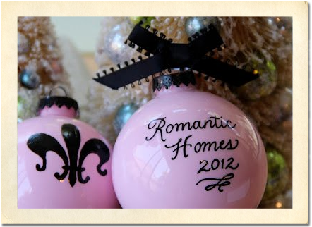Romantic Homes Commemorative Bulb by Jenelle Van de Mortel