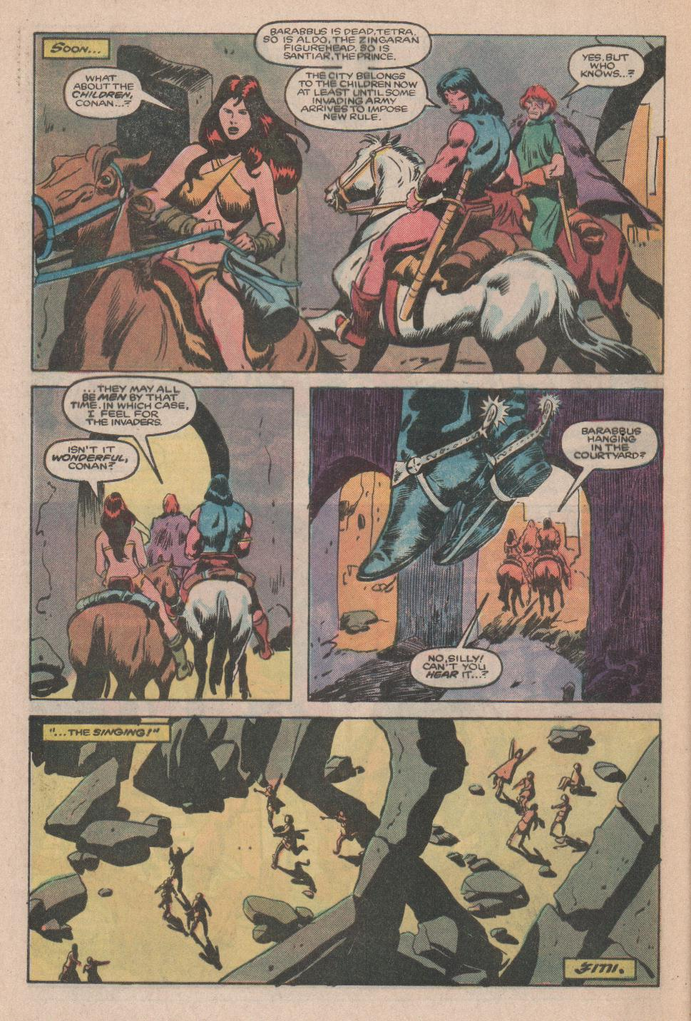 Conan the Barbarian (1970) Issue #174 #186 - English 23