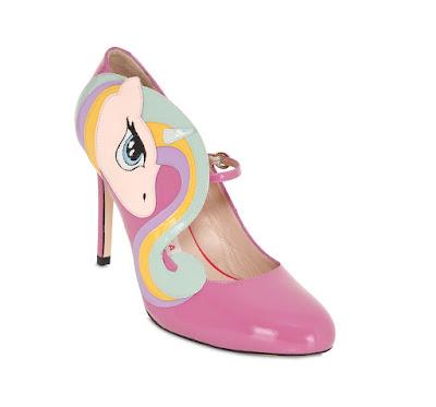 Minna Parikka Pink Unicorn Shoes