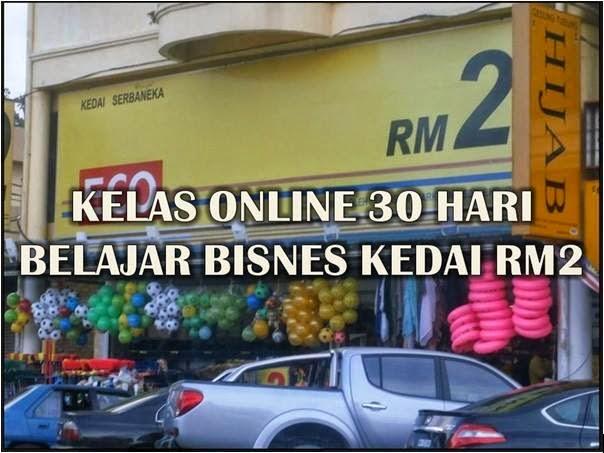 Kelas Online Belajar Bisnes Kedai RM2