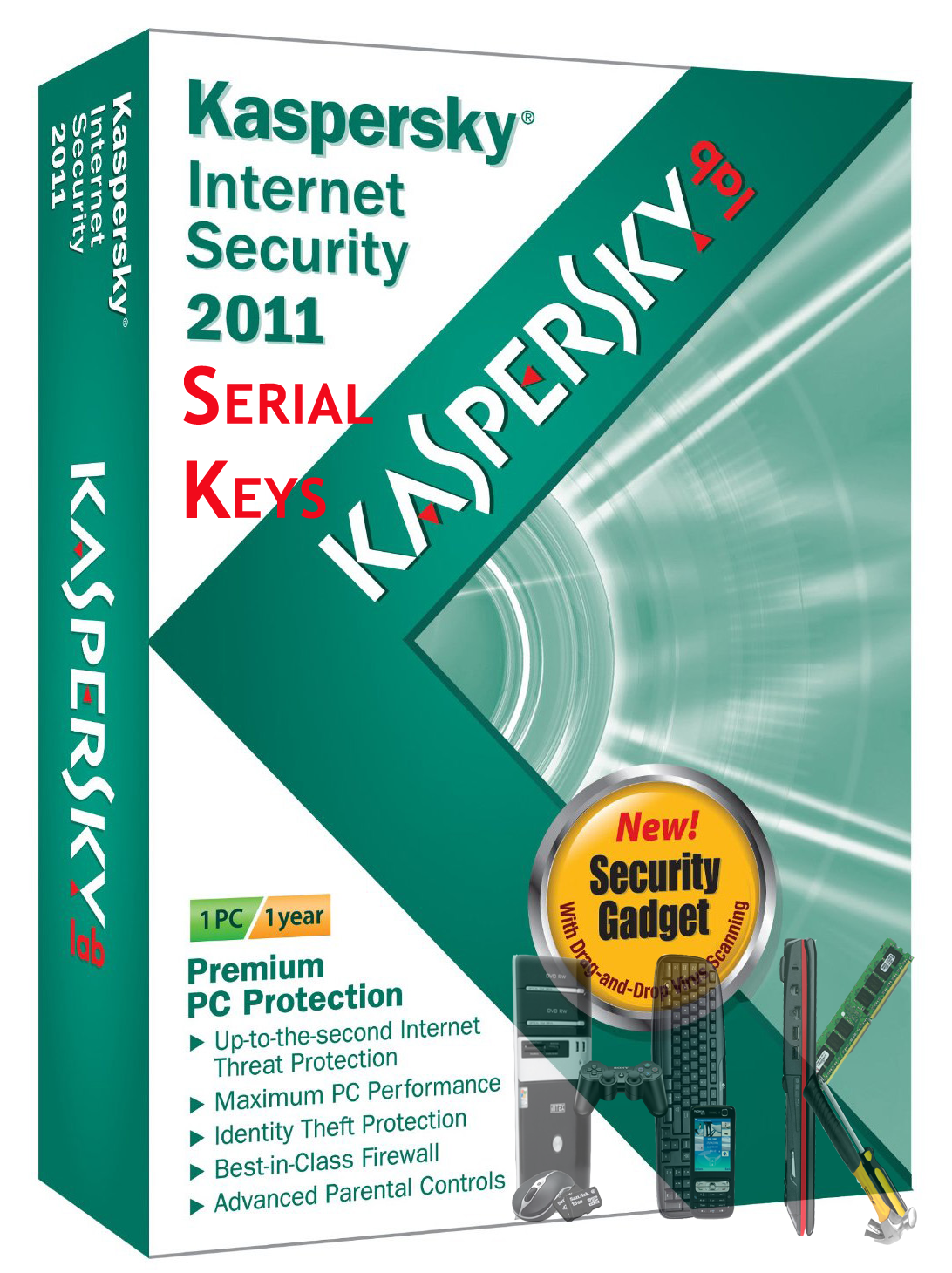 Kaspersky Internet Security 2011 Keys [ANAN]