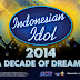 Daftar Lagu Top 13 Finalis INDONESIAN IDOL 2014 Lengkap (Spekta 1 - Grand Final)