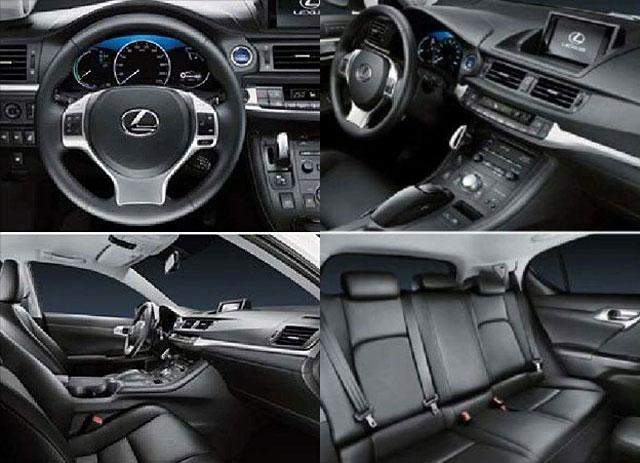 2012 Lexus CT 200h Interior Picture