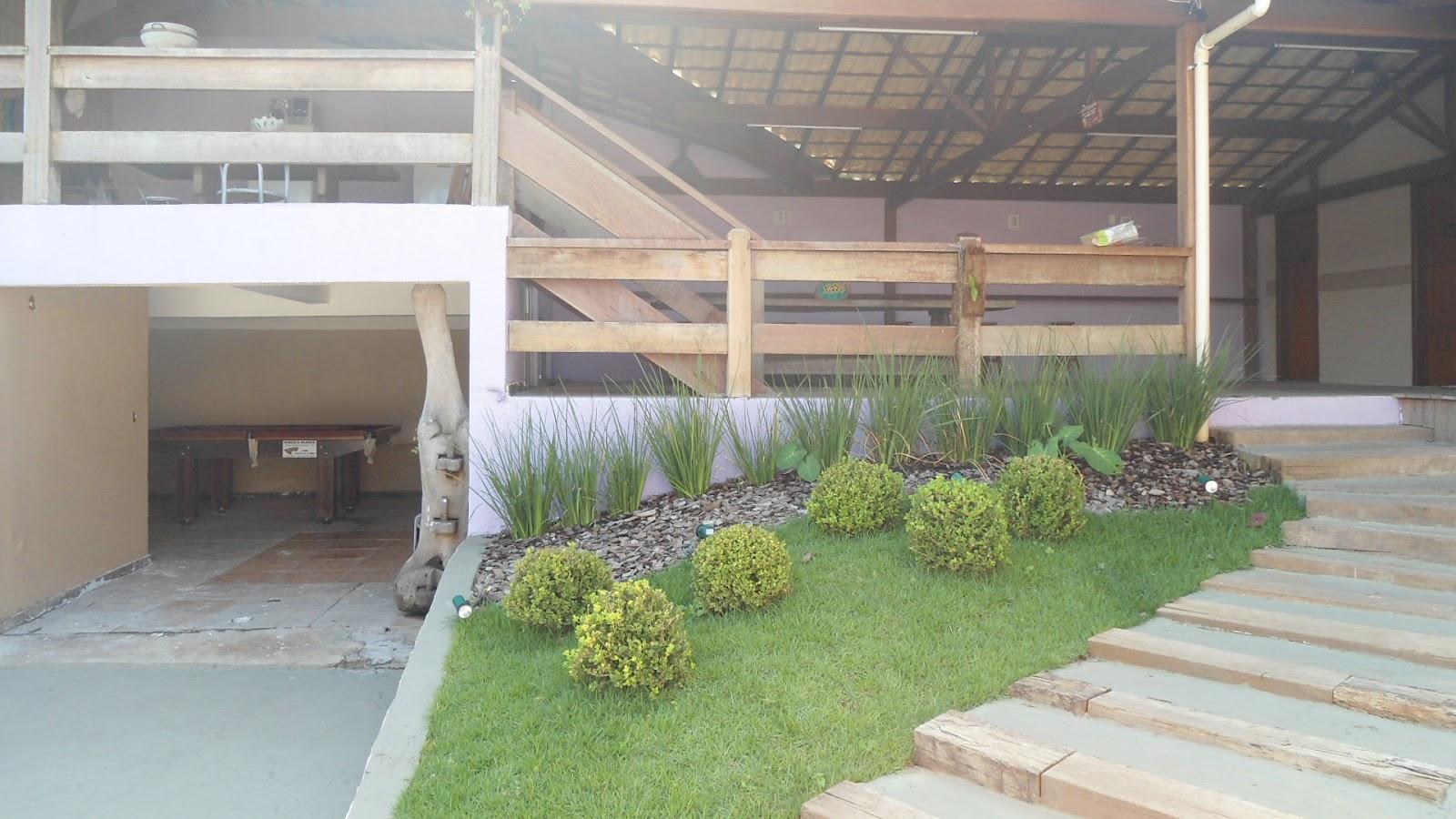 temos uma estrutura completa para lhes receber área de churrasqueira  #6B8249 1600x900 Banheiro Container Para Eventos