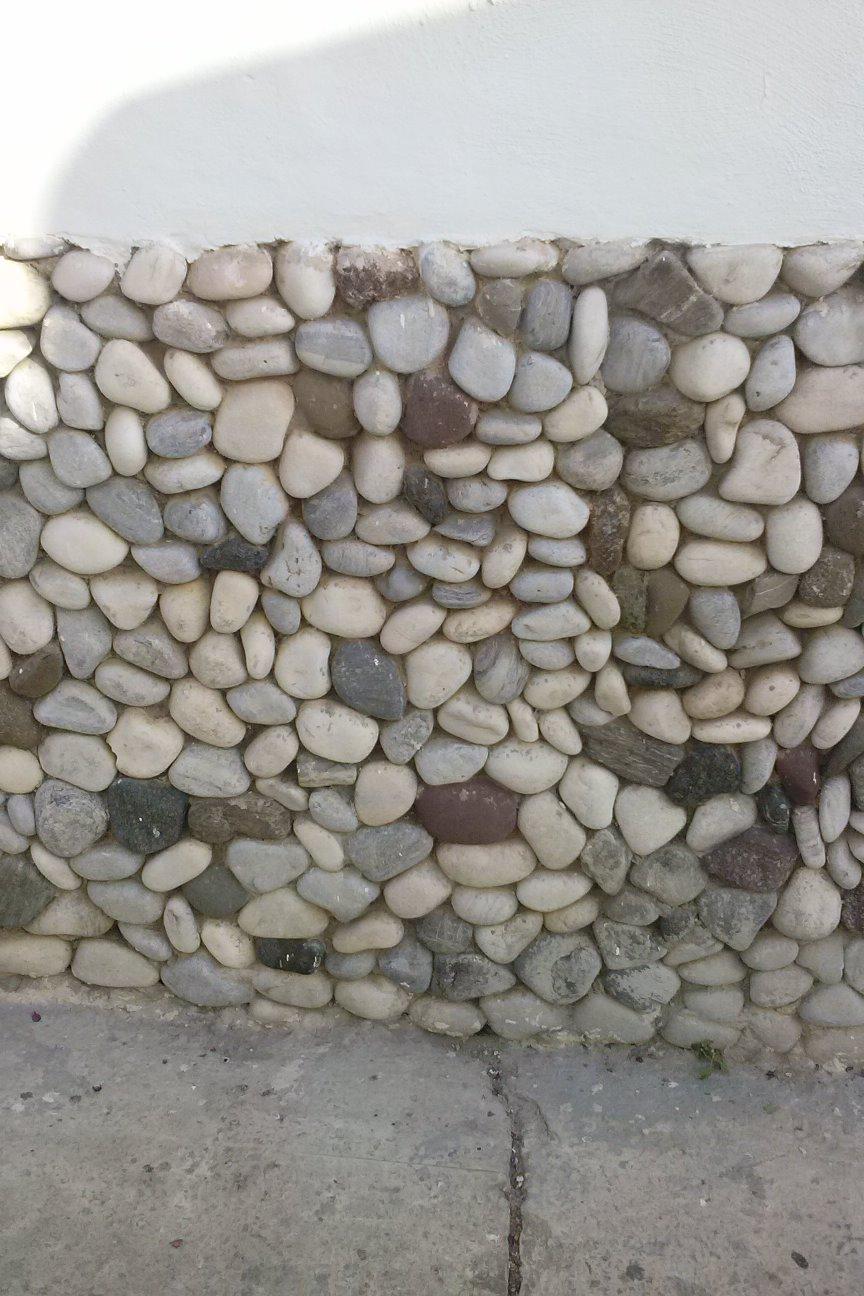 Artesanos de la construcci n revestimiento con piedra - Zocalos de piedra ...
