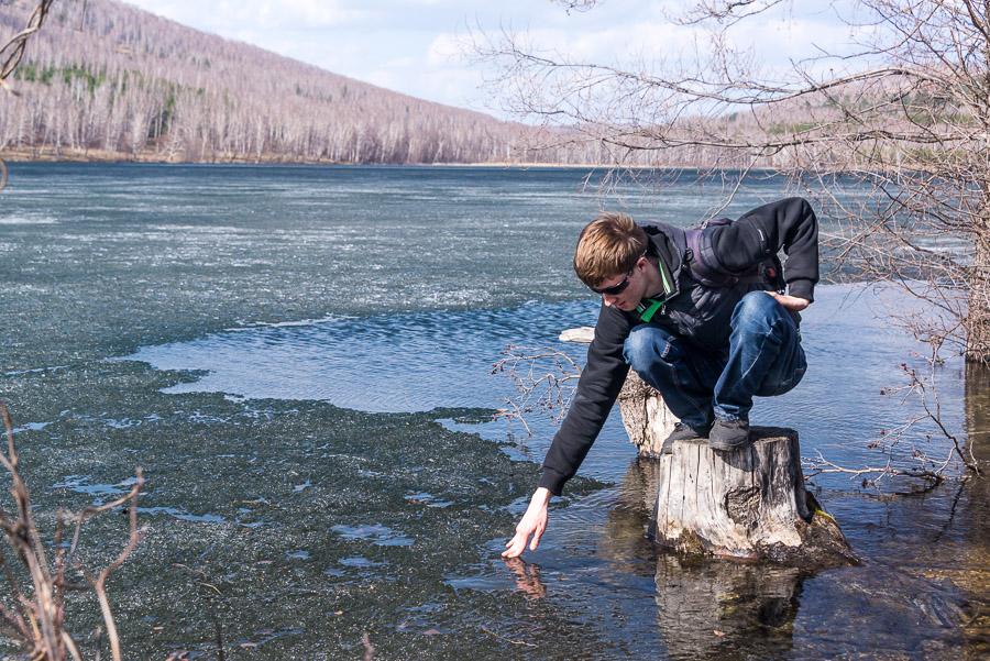 Вокруг озера
