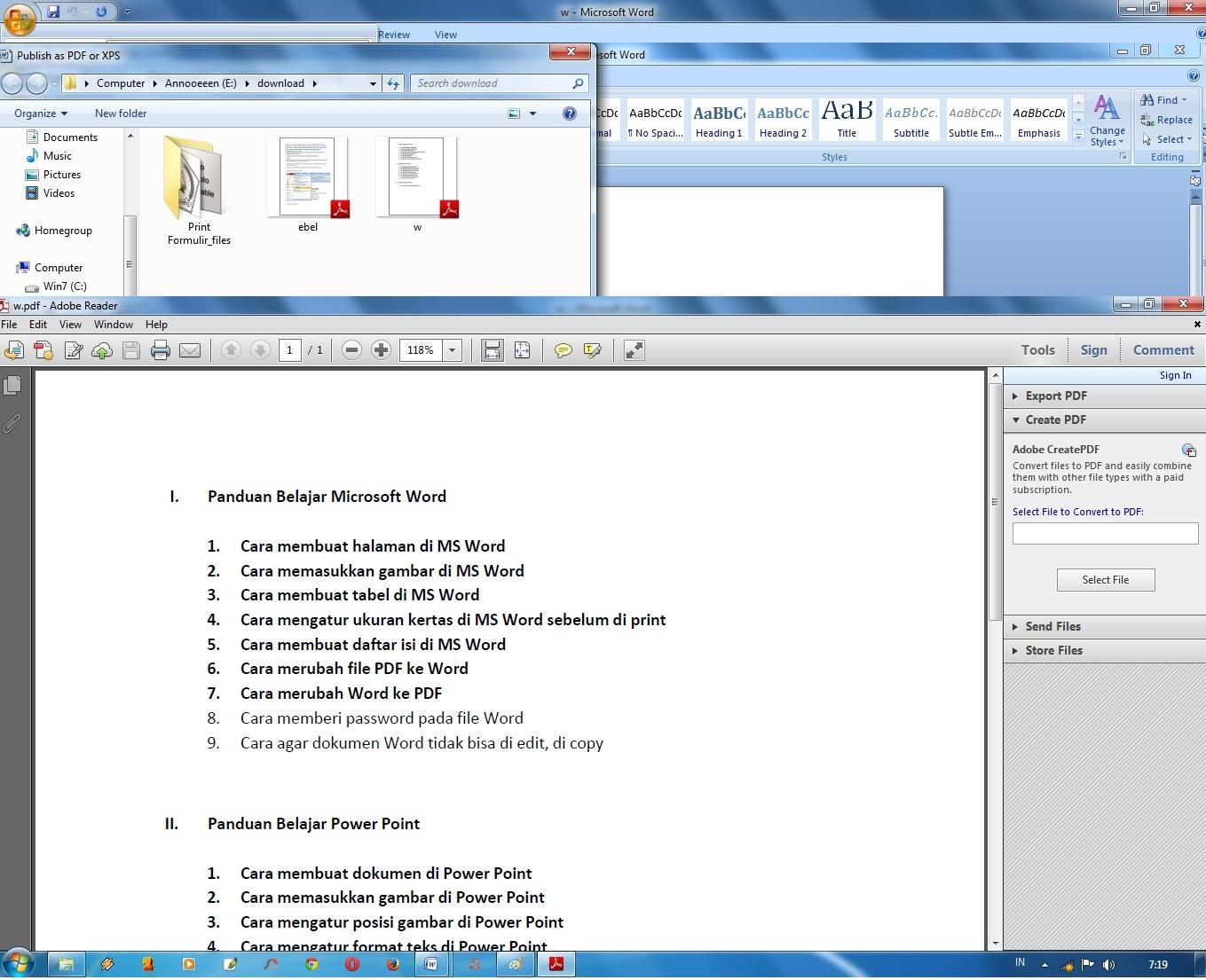 Объединение или слияние файлов в один файл PDF в Adobe Acrobat DC 2