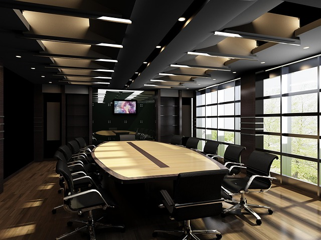 Ruang Rapat Mewah Dan Minimalis Modern
