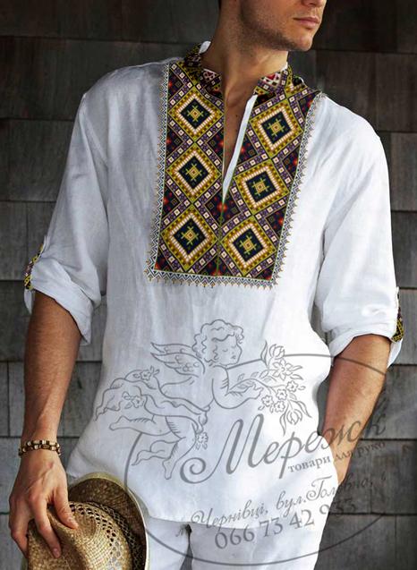 Узори чоловічих сорочок