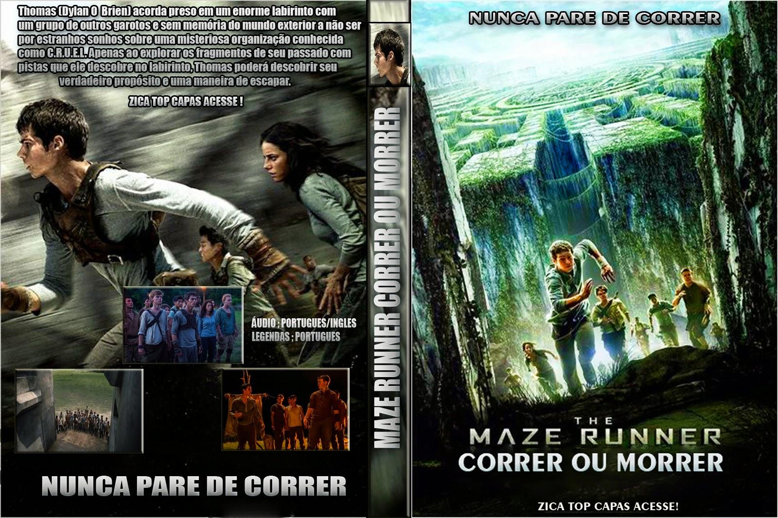 Capa do filme maze runner correr ou morrer