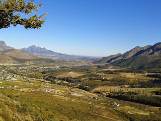 Franshoek Valley, Western Cape, South Africa