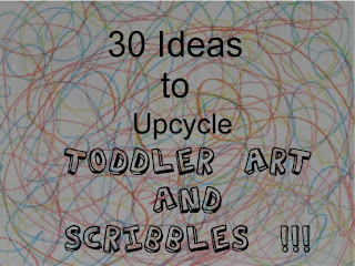 Toddler Art and Scribbles