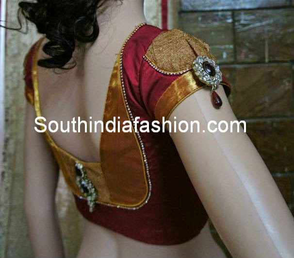 saree blouse sleeves designs