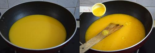 easy custard powder halwa recipe