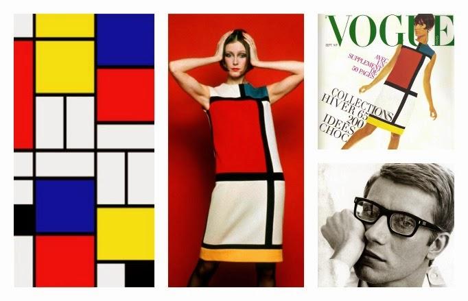 serie arte y moda yves saint laurent mondrian