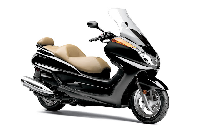 2012 Yamaha Majesty Black