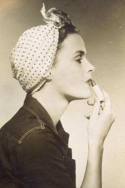 daytime head scarf vintage