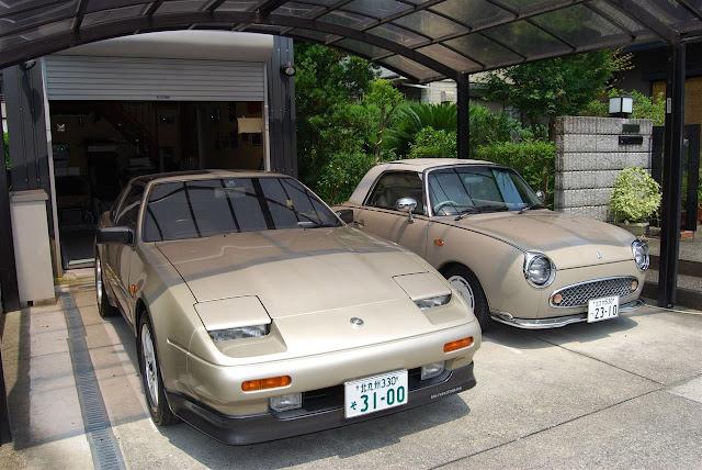 Nissan Fairlady Z 300ZX Z31 Figaro, stare samochody, sportowe auta z Japonii