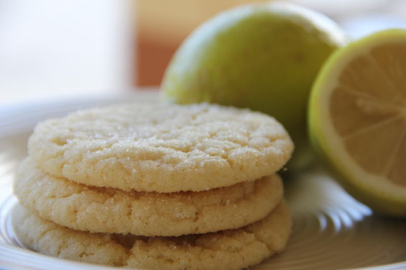 My Happy Place: Chewy Coconut Lime Sugar Cookies