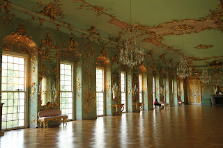 Charlottenburg Palace, Berlin, Gold room, ball room, inside the Palace
