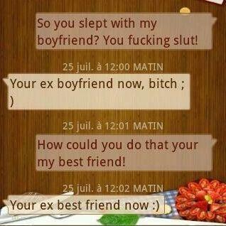 So You Sleep With My Boyfriend?