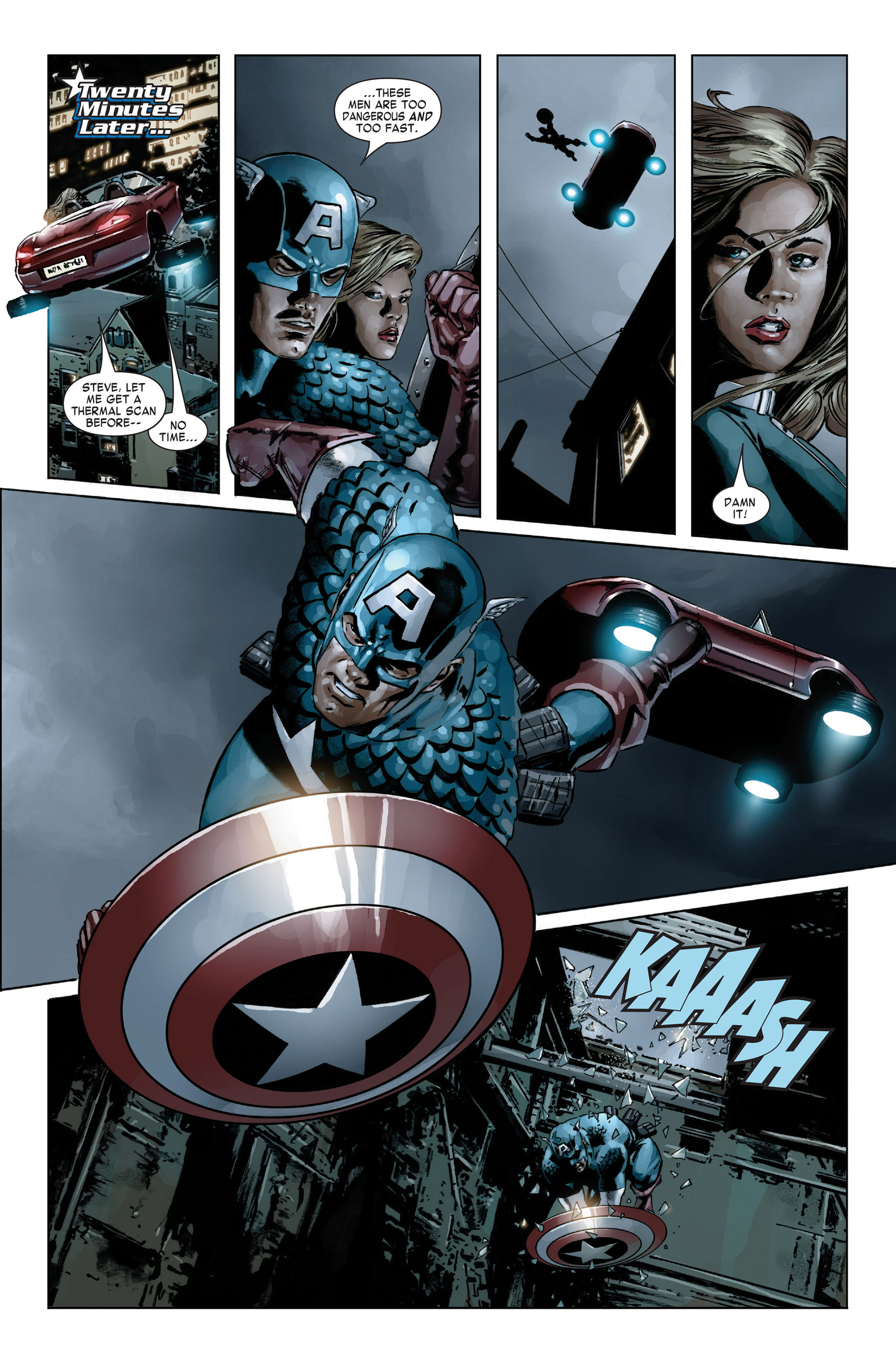 Captain America (2005) Issue #19 #19 - English 20