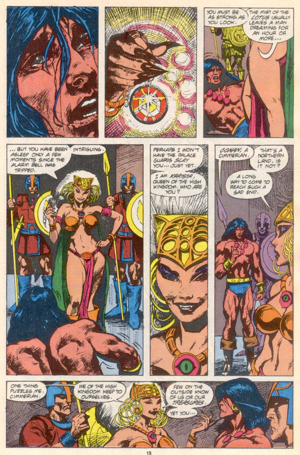 Conan the Barbarian (1970) Issue #226 #238 - English 16