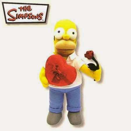 Peluche Homer Corazón San Valentín