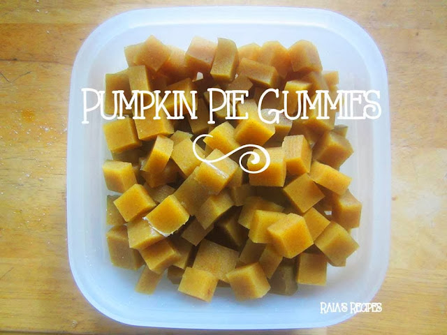 Pumpkin Pie Gummies by Raia's Recipes