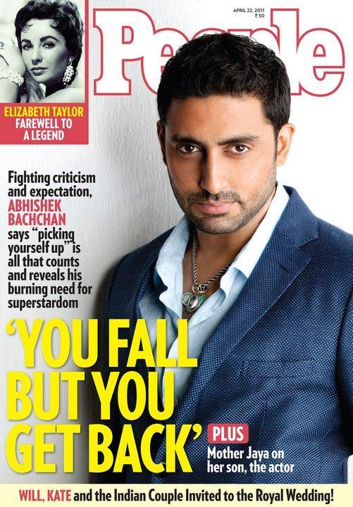 Abhishek Bachchan on People Magazine Cover