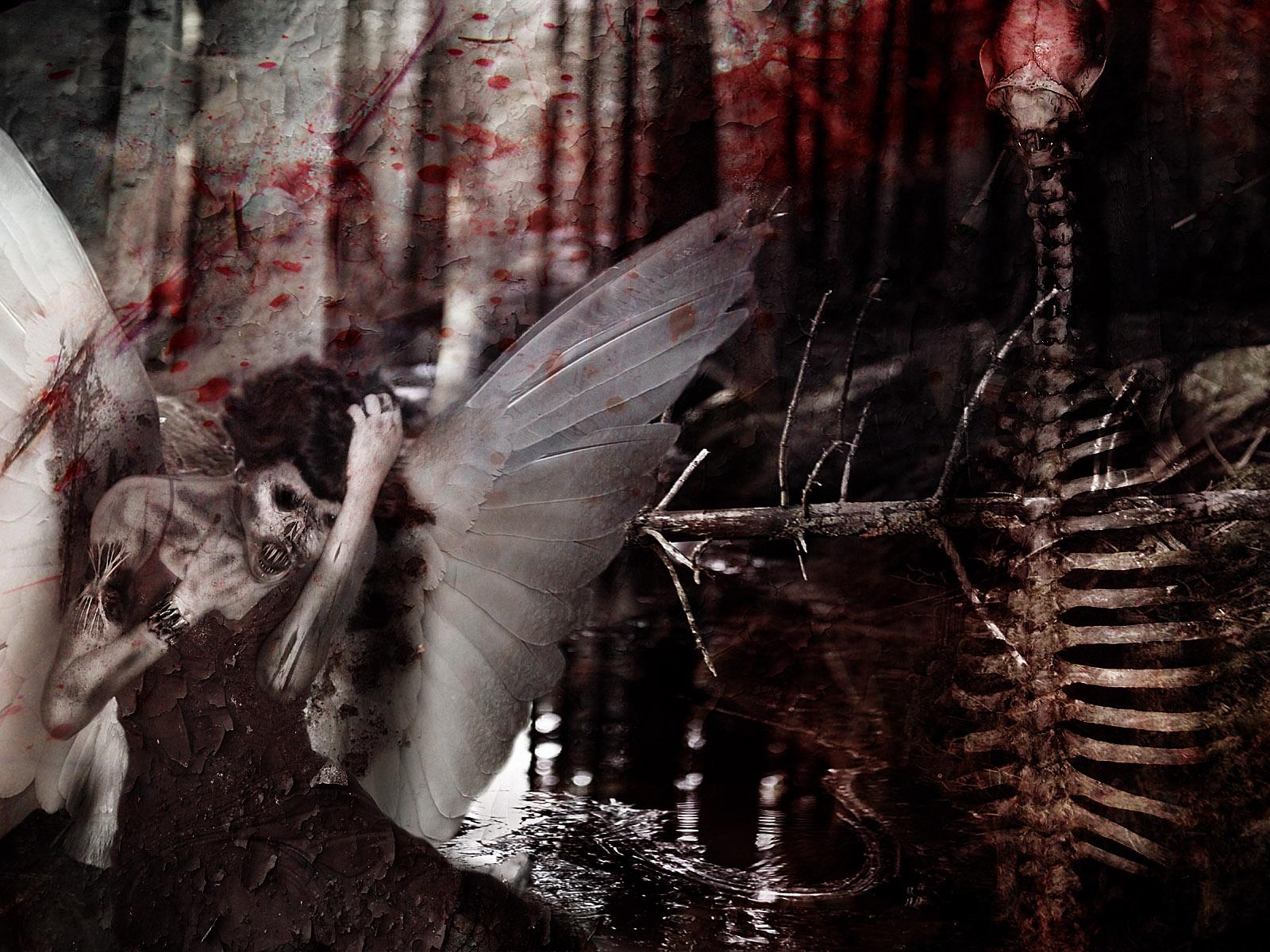 21 horror wallpaper high resolution collection part 3 - Dark gothic angel wallpaper ...