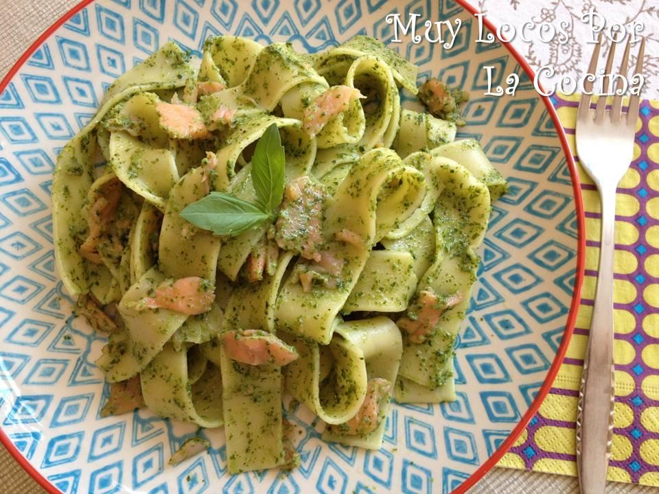 Muy locos por la cocina tagliatelle con salm n ahumado y - Salsas para pasta con nata ...