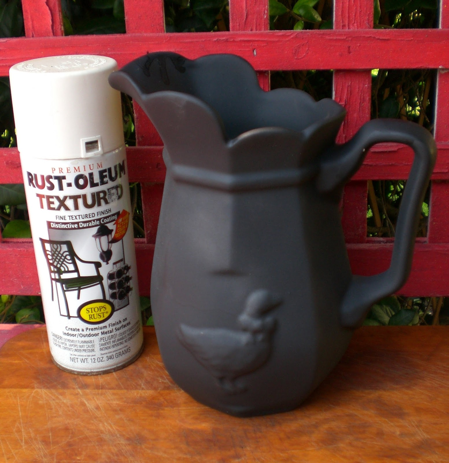 Black Textured Spray Paint RustOleum Stops Rust 12 oz Protective