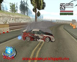 Mod GTA Mod Map Tokyo Drift (Arena Lintasan Drift) v1.0