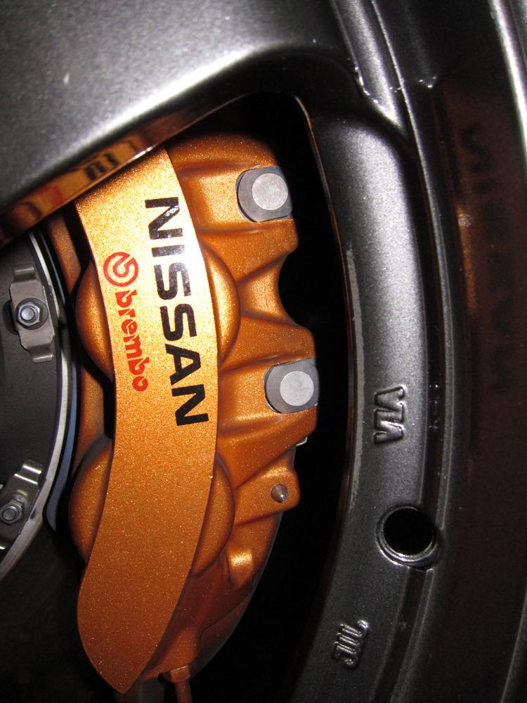 18 Inch Wheels Over 2012 Nissan Gt R Brakes 2009gtr Com
