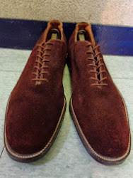 50's DEAD STOCK BROWN SUEDE SHOES