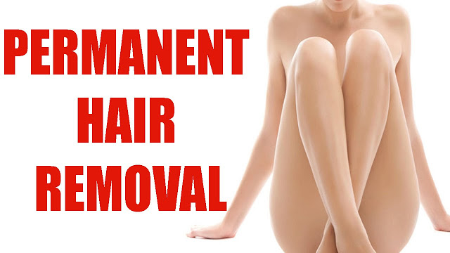 How to get the permanent hair removal ?