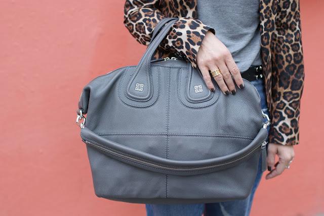 Givenchy grey Nightingale bag, Nightingale grigia media, Fashion and Cookies, fashion blogger
