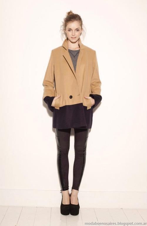 Sacos invierno 2013 moda Akiabara