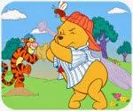 Game bóng chày gấu Pooh