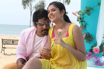 Vikram's film Rajapattai Stills
