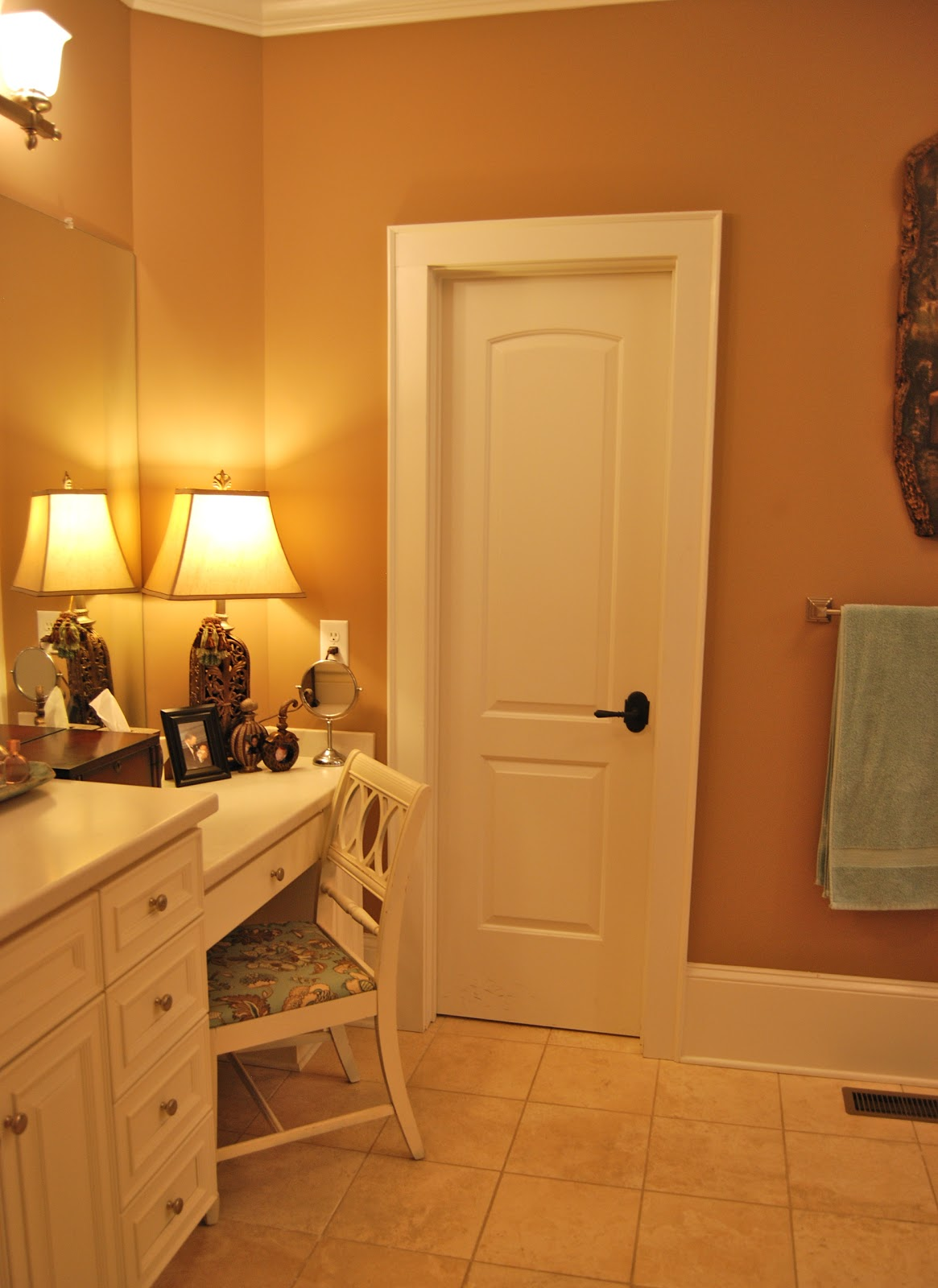 Imparting grace updated master bathroom for Updated master bathrooms