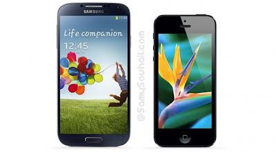 دراسة: iPhone 5 بطيئ في الأداء مقارنة مع هاتف Samsung Galaxy S4