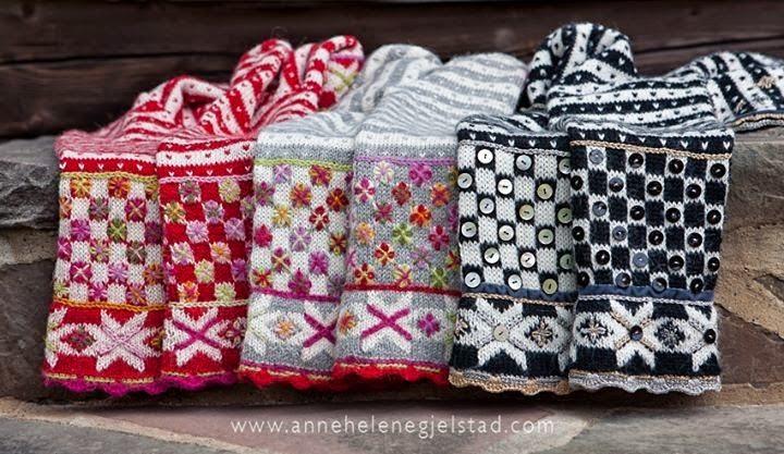 norweskie wzory na drutach